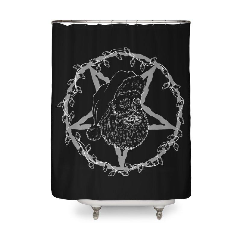 Hail santa Home Shower Curtain by marpeach's Artist Shop