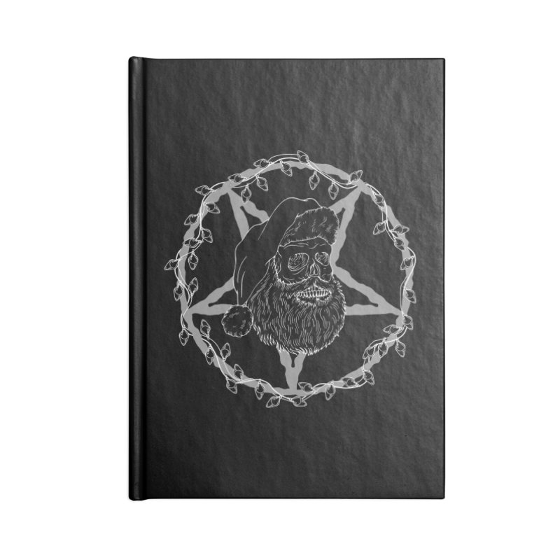 Hail santa Accessories Lined Journal Notebook by marpeach's Artist Shop