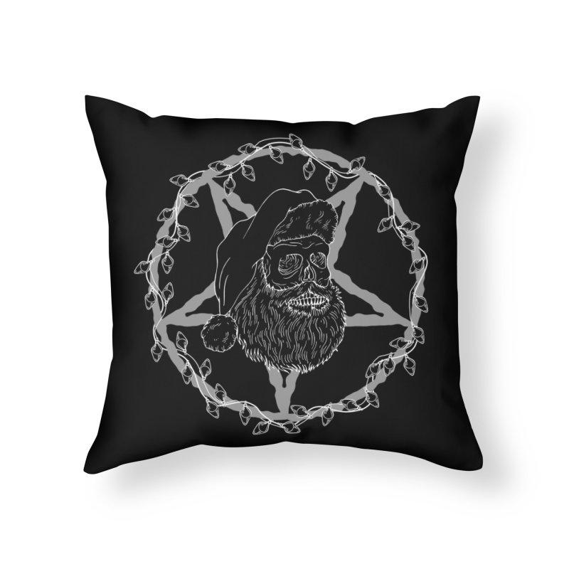 Hail santa Home Throw Pillow by marpeach's Artist Shop