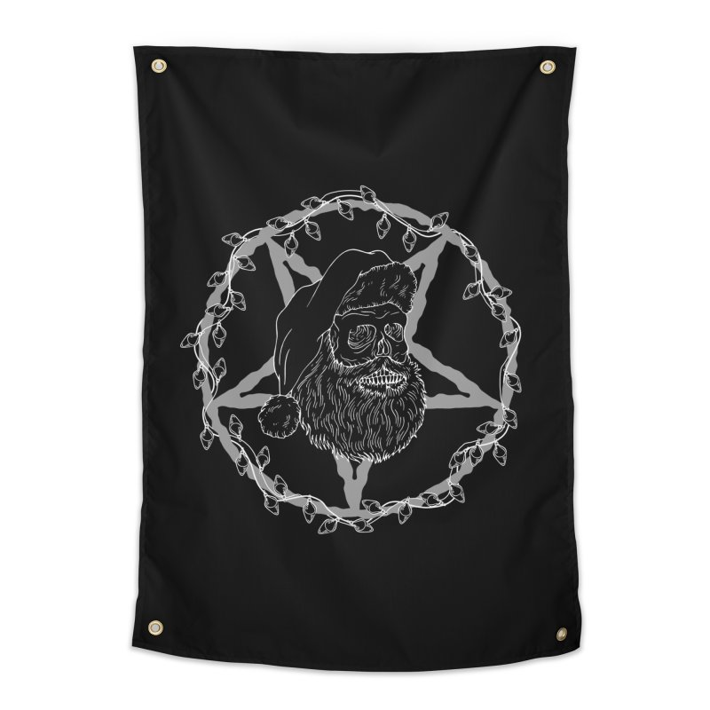 Hail santa Home Tapestry by marpeach's Artist Shop