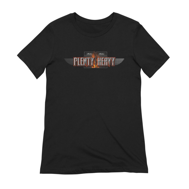 PLENTY HEAVY LOGO Women's Extra Soft T-Shirt by Greg Marra's Artist Shop