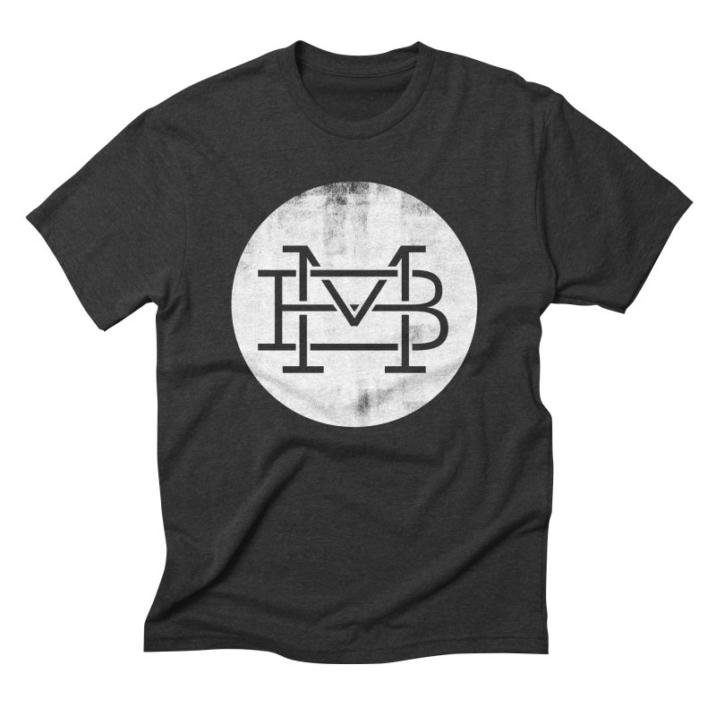 The Logo Shirt Men's Triblend T-shirt by Marrowbone Apparel