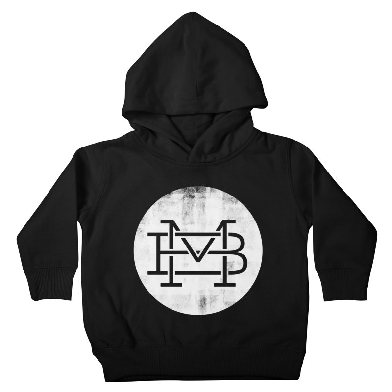 The Logo Shirt Kids Toddler Pullover Hoody by Marrowbone Apparel