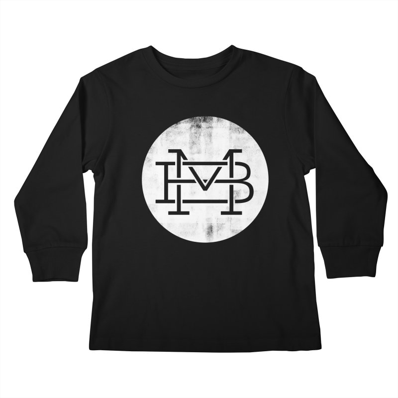 The Logo Shirt Kids Longsleeve T-Shirt by Marrowbone Apparel