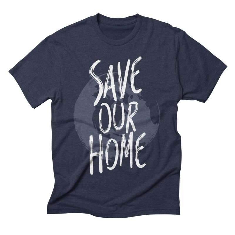 Save Our Home Men's Triblend T-Shirt by Marrowbone Apparel