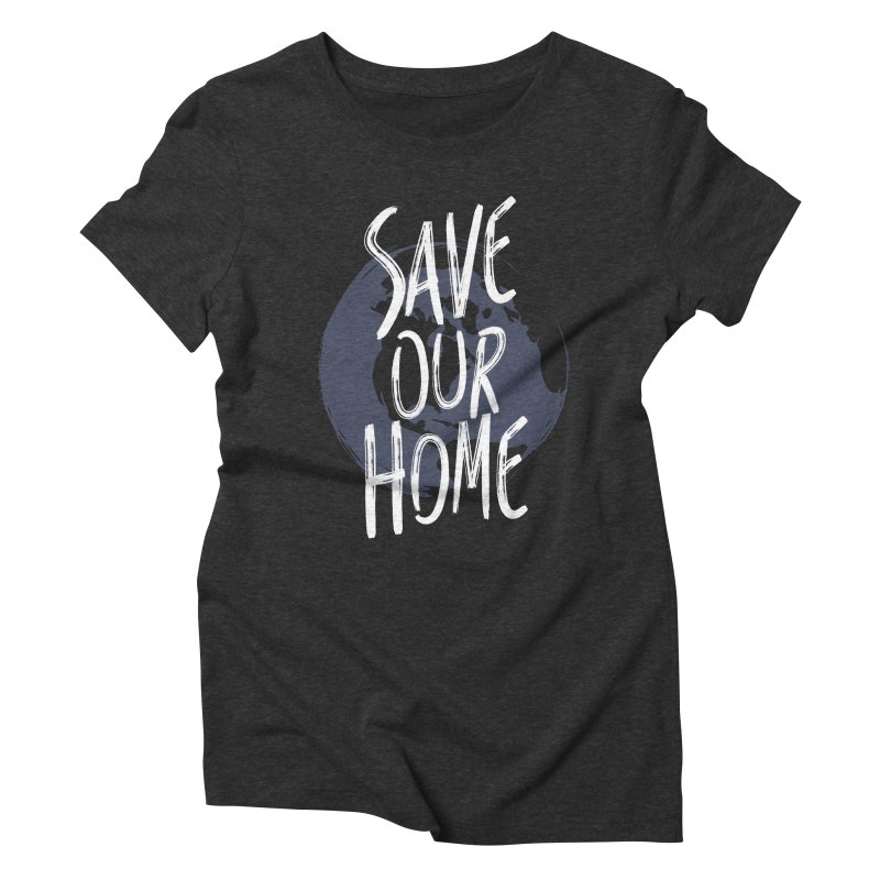 Save Our Home Women's Triblend T-Shirt by Marrowbone Apparel