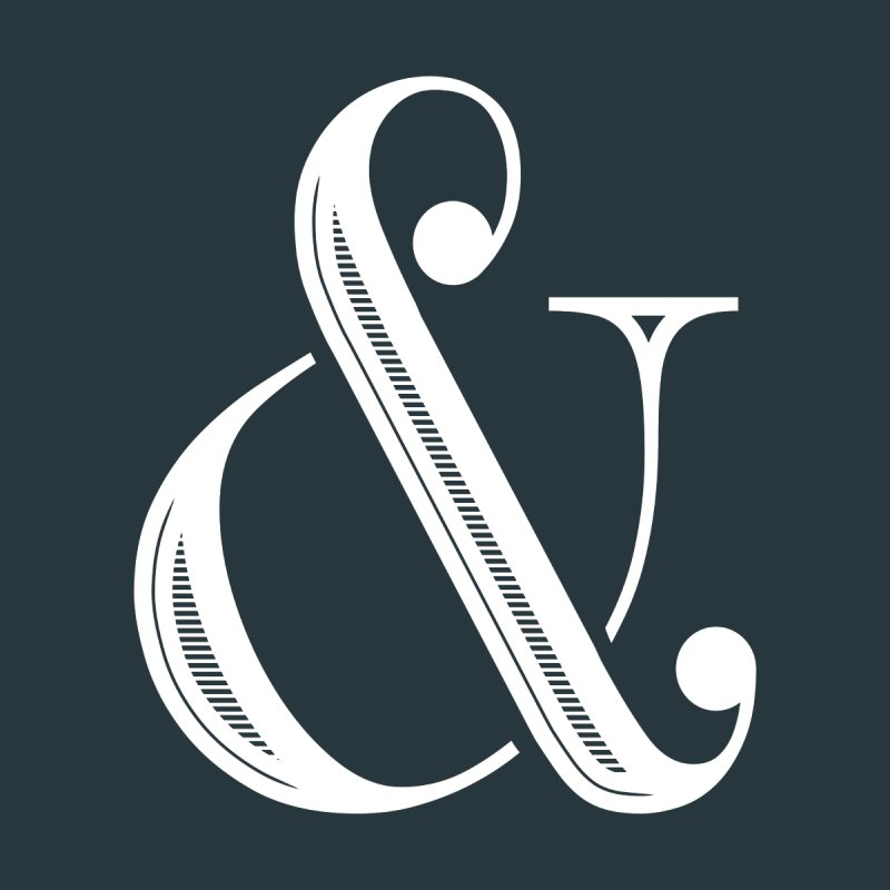 The Ampersand None  by Marrowbone Apparel