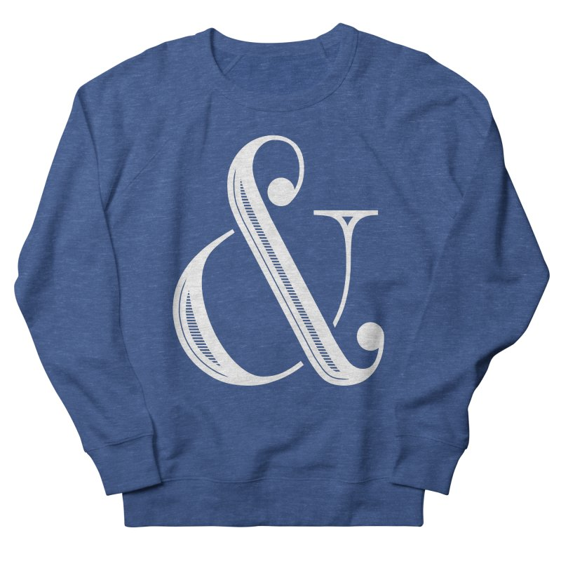 The Ampersand Women's French Terry Sweatshirt by Marrowbone Apparel
