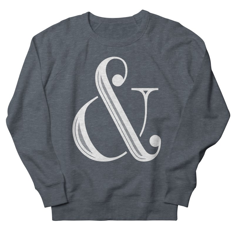 The Ampersand Men's French Terry Sweatshirt by Marrowbone Apparel