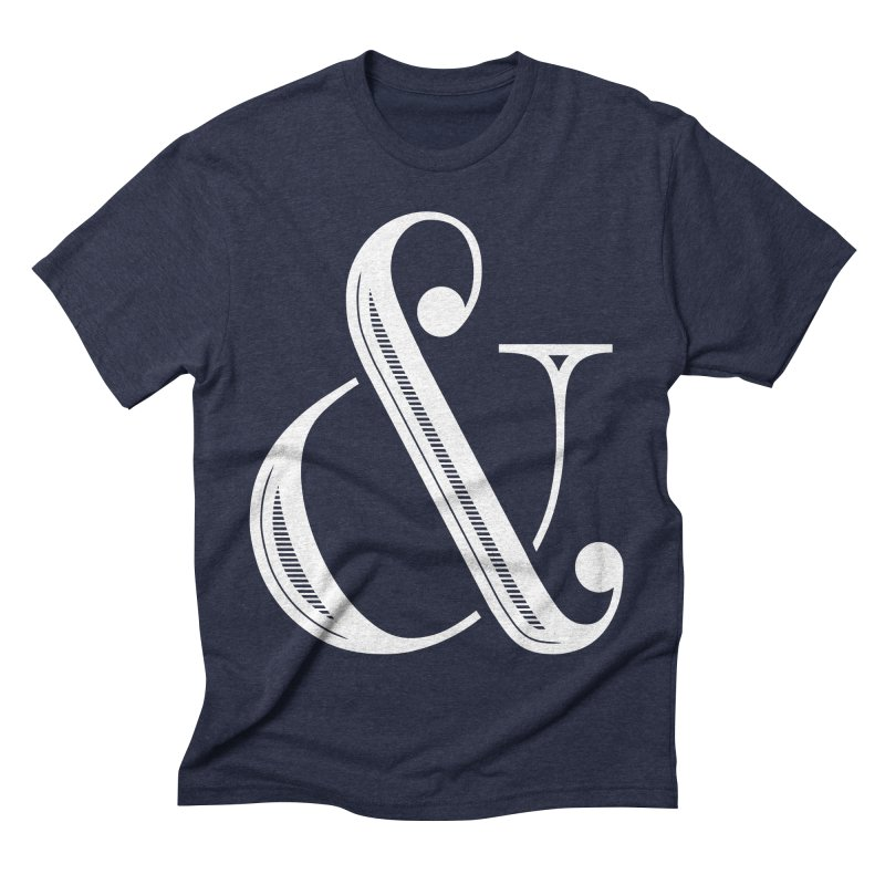 The Ampersand Men's Triblend T-shirt by Marrowbone Apparel