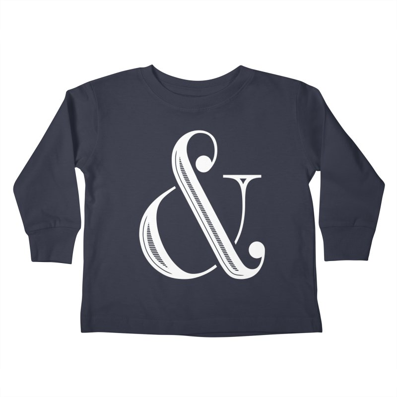 The Ampersand Kids Toddler Longsleeve T-Shirt by Marrowbone Apparel