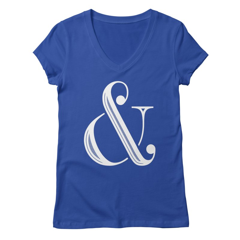 The Ampersand Women's V-Neck by Marrowbone Apparel