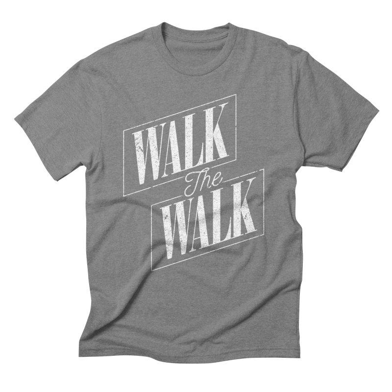 Walk the Walk Men's T-Shirt by Marrowbone Apparel