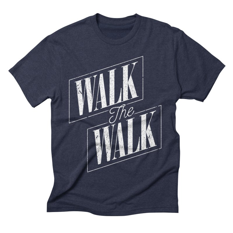 Walk the Walk Men's Triblend T-shirt by Marrowbone Apparel