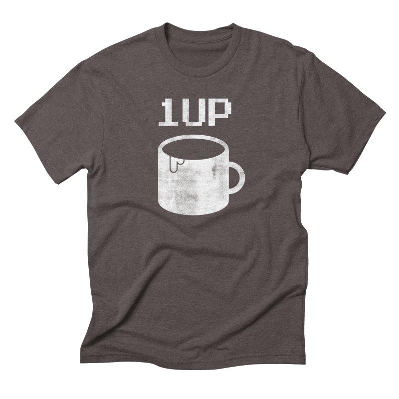 Coffee +1 Men's Triblend T-Shirt by Marrowbone Apparel