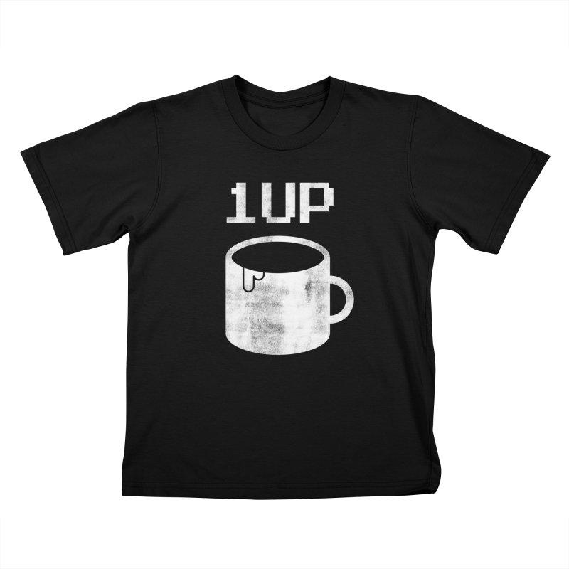 Coffee +1 Kids T-Shirt by Marrowbone Apparel
