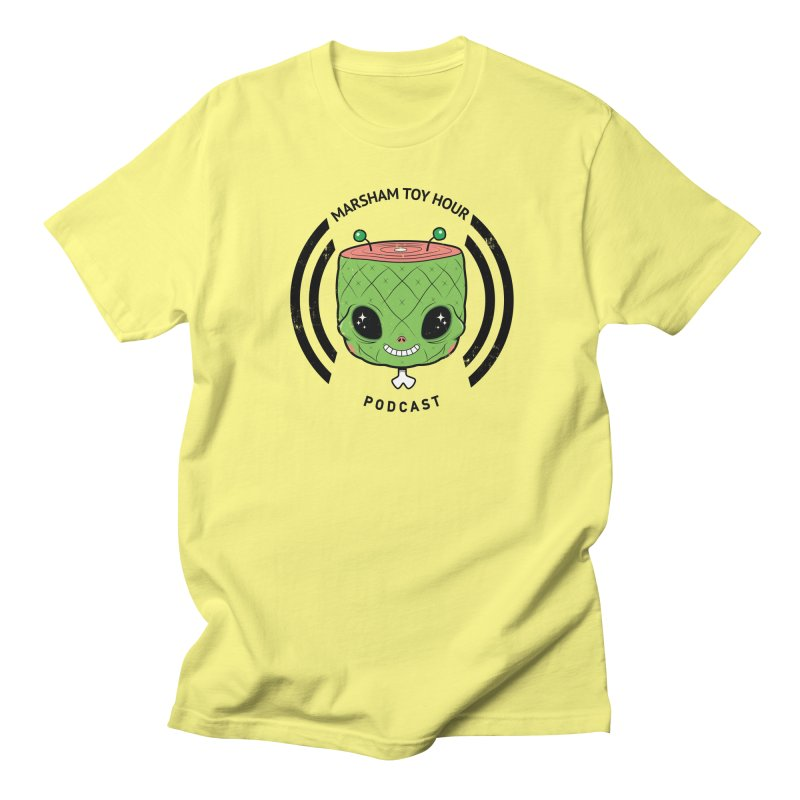Marsham Alien Women's Regular Unisex T-Shirt by Marsham Toy Hour