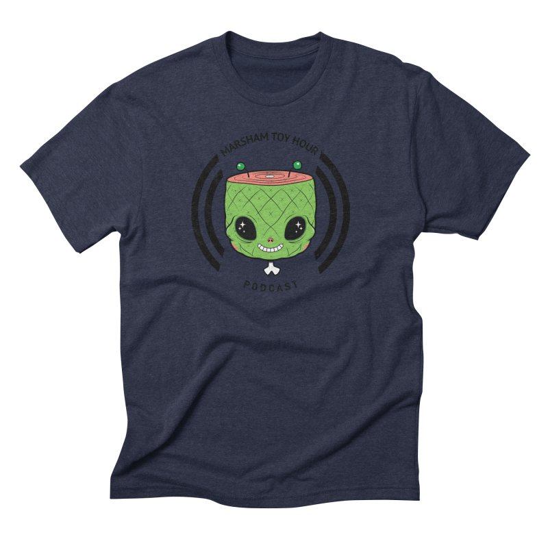 Marsham Alien Men's Triblend T-Shirt by Marsham Toy Hour