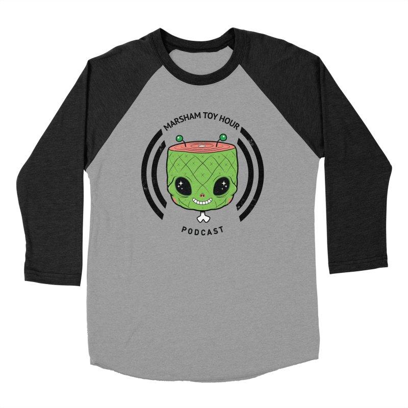 Marsham Alien Women's Baseball Triblend Longsleeve T-Shirt by Marsham Toy Hour