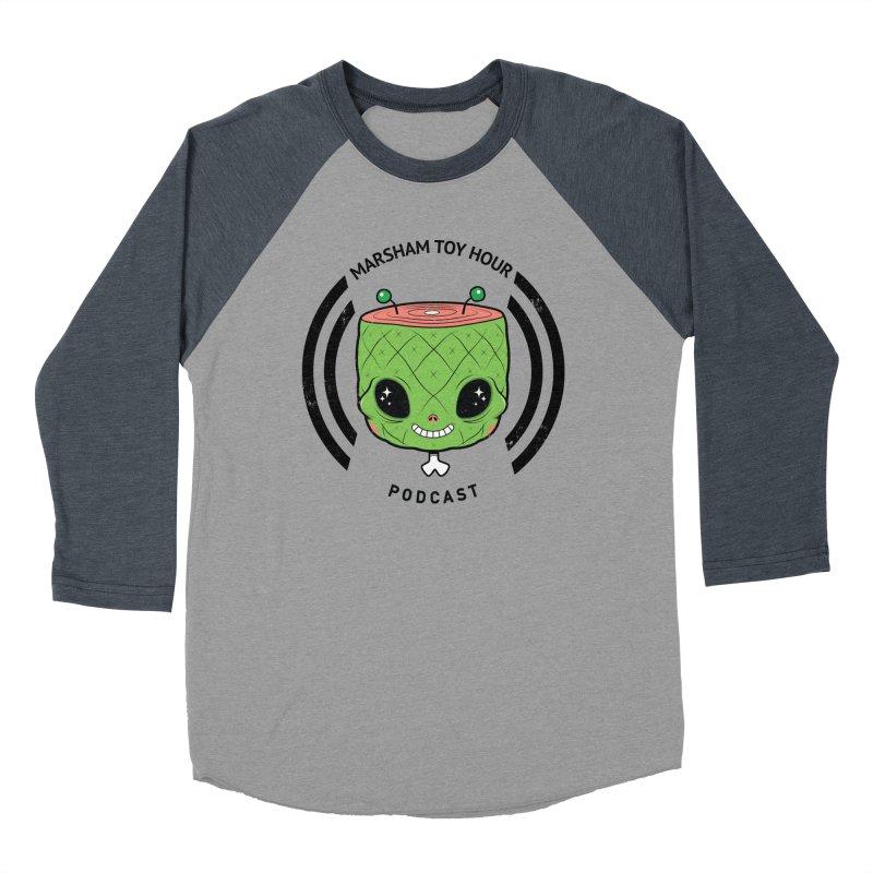 Marsham Alien Men's Baseball Triblend T-Shirt by Marsham Toy Hour