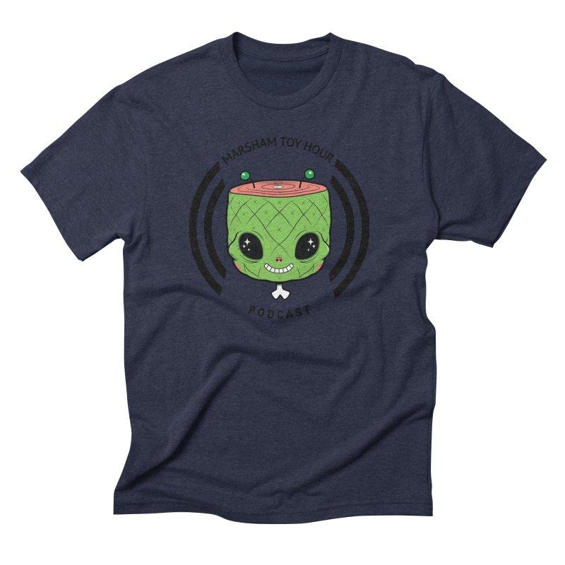 Marsham Alien Men's Triblend T-shirt by Marsham Toy Hour