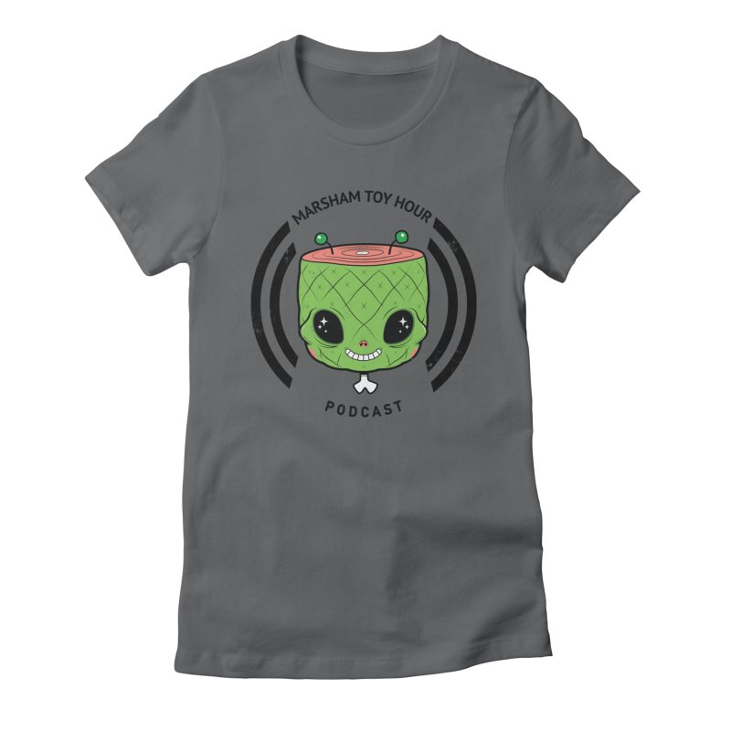 Marsham Alien Women's Fitted T-Shirt by Marsham Toy Hour
