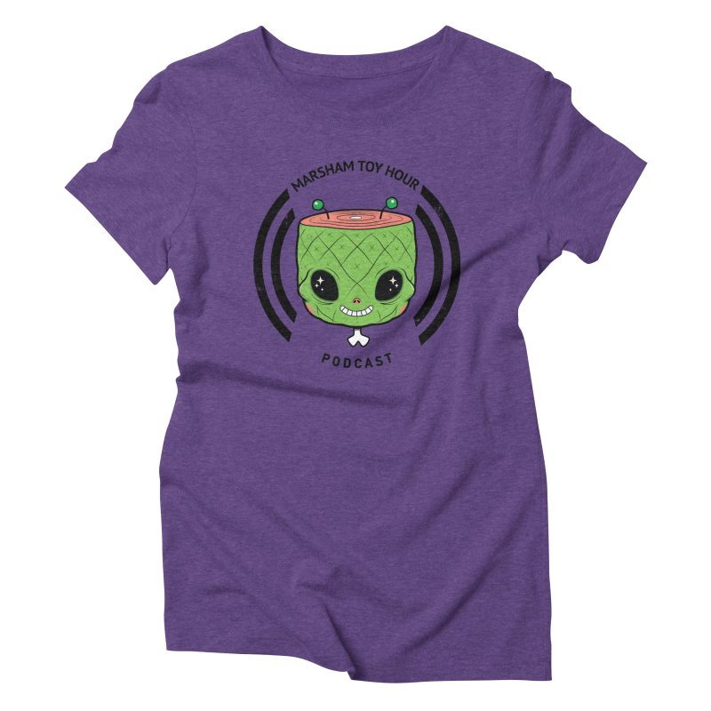 Marsham Alien Women's Triblend T-Shirt by Marsham Toy Hour