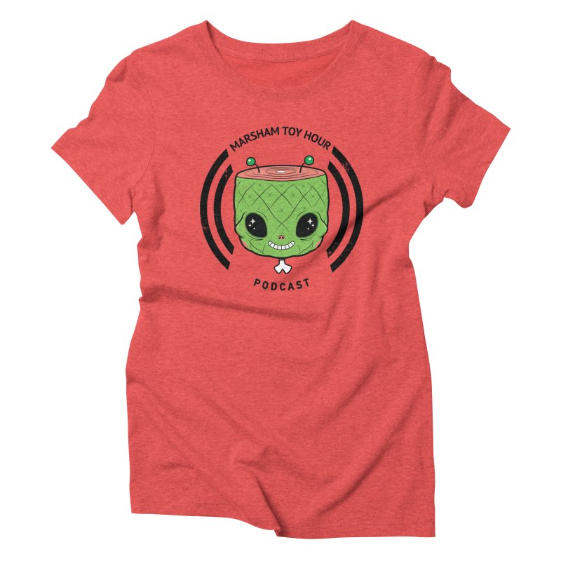 Marsham Alien Women's Triblend T-Shirt by Marsham Toy Hour