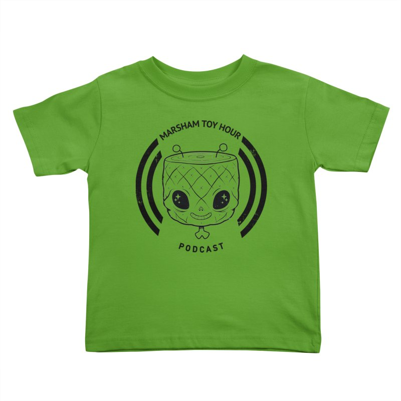 Marsham Toy Hour - Simple Kids Toddler T-Shirt by Marsham Toy Hour