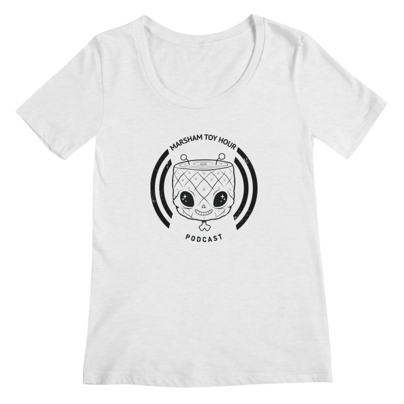 Marsham Toy Hour - Simple Women's Scoop Neck by Marsham Toy Hour