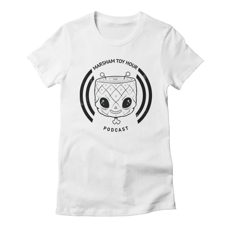 Marsham Toy Hour - Simple Women's Fitted T-Shirt by Marsham Toy Hour