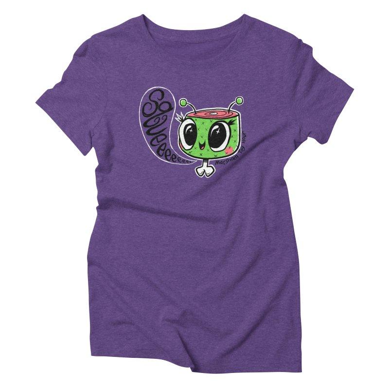 Marsham Squeeeee Women's Triblend T-Shirt by Marsham Toy Hour