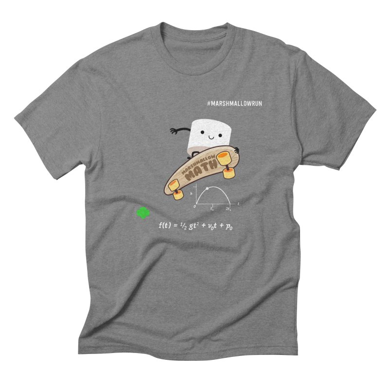 Marshmallow Math Men's T-Shirt by marshmallowrun's Artist Shop