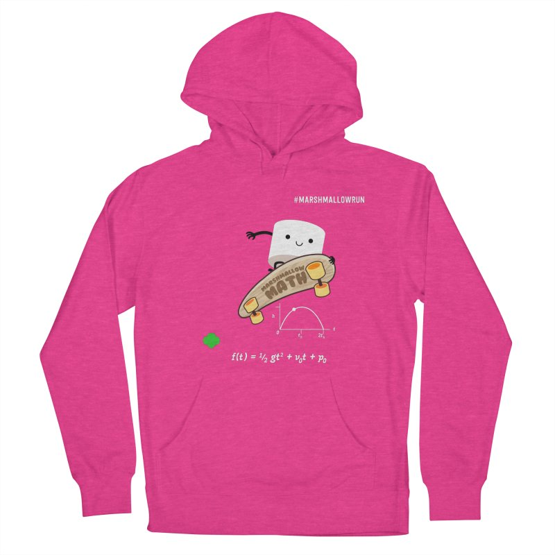 Marshmallow Math Men's French Terry Pullover Hoody by marshmallowrun's Artist Shop