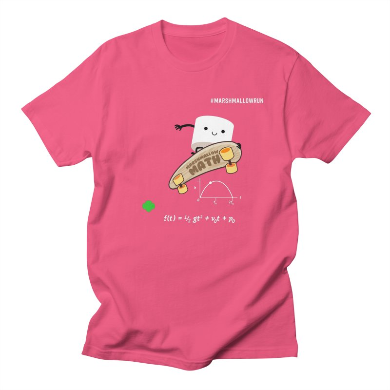 Marshmallow Math Women's Regular Unisex T-Shirt by marshmallowrun's Artist Shop