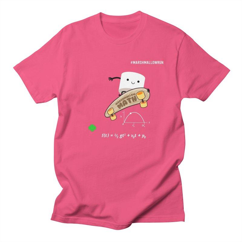 Marshmallow Math Women's Unisex T-Shirt by marshmallowrun's Artist Shop