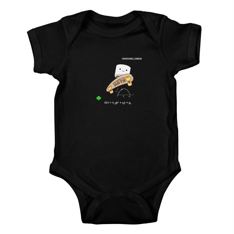 Marshmallow Math Kids Baby Bodysuit by marshmallowrun's Artist Shop