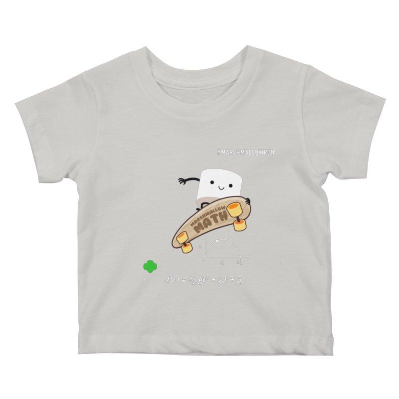 Marshmallow Math Kids Baby T-Shirt by marshmallowrun's Artist Shop