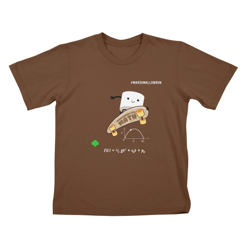 Marshmallow Math Kids T-Shirt by marshmallowrun's Artist Shop