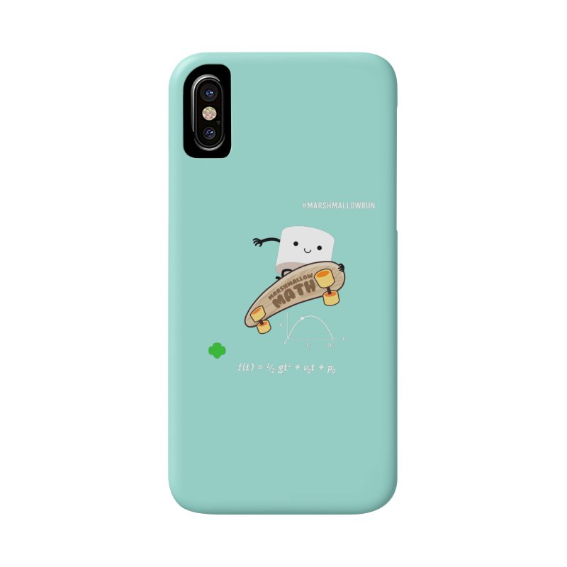 Marshmallow Math Accessories Phone Case by marshmallowrun's Artist Shop