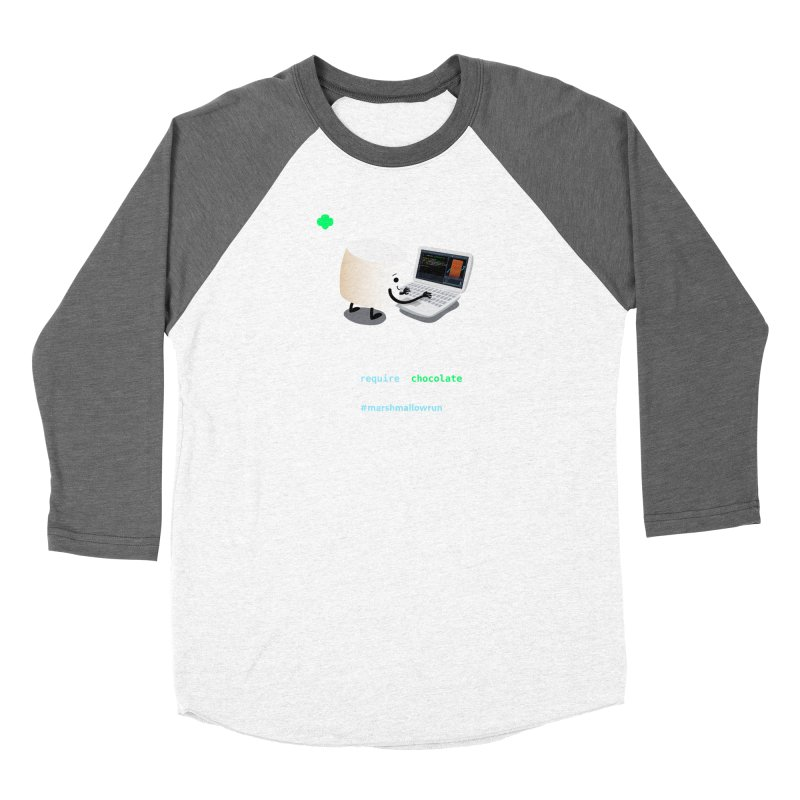 coding for chocolate Women's Longsleeve T-Shirt by marshmallowrun's Artist Shop