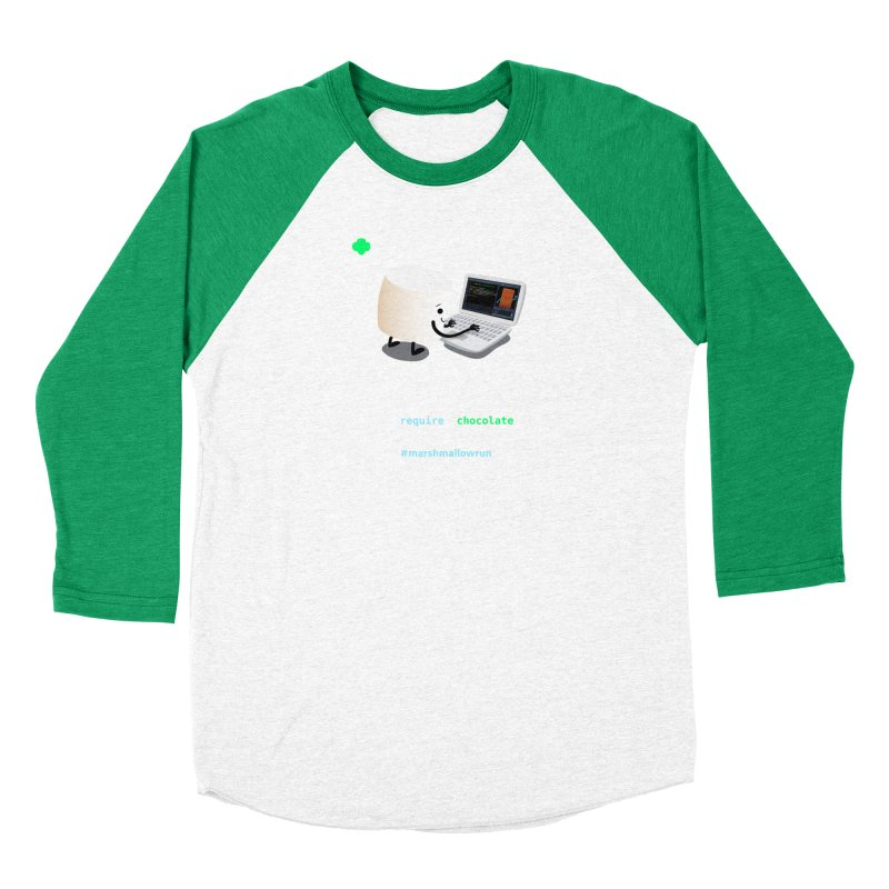 coding for chocolate Men's Longsleeve T-Shirt by marshmallowrun's Artist Shop