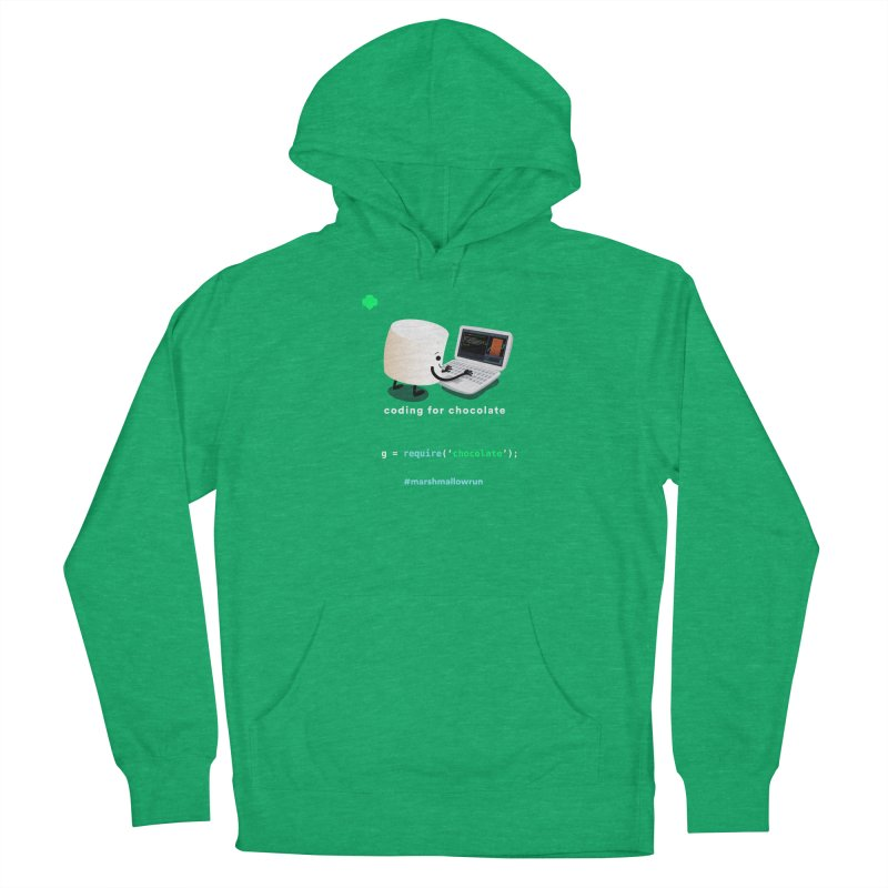 coding for chocolate Men's French Terry Pullover Hoody by marshmallowrun's Artist Shop