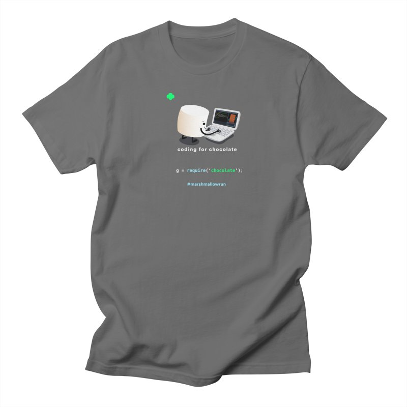 coding for chocolate Men's T-Shirt by marshmallowrun's Artist Shop