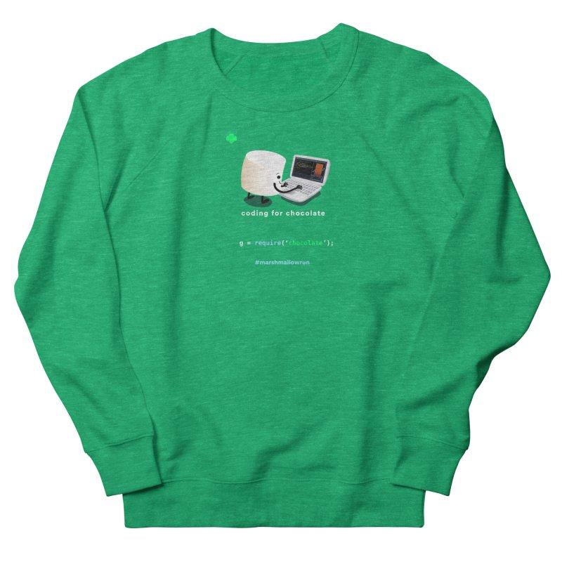 coding for chocolate Women's Sweatshirt by marshmallowrun's Artist Shop