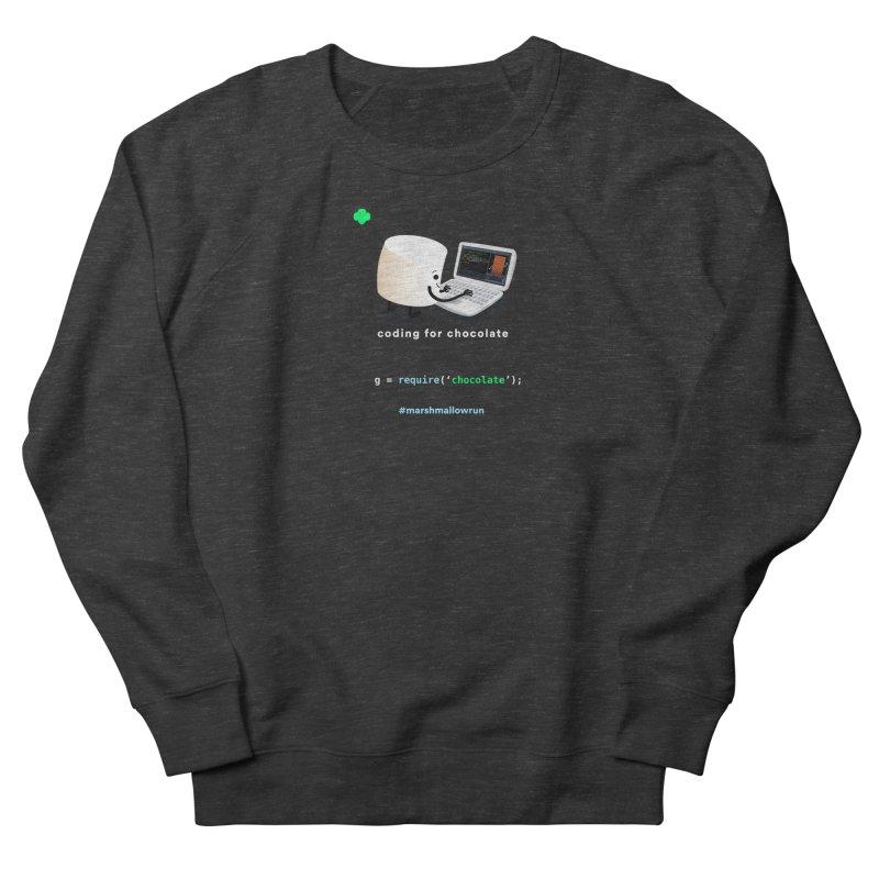 coding for chocolate Men's Sweatshirt by marshmallowrun's Artist Shop