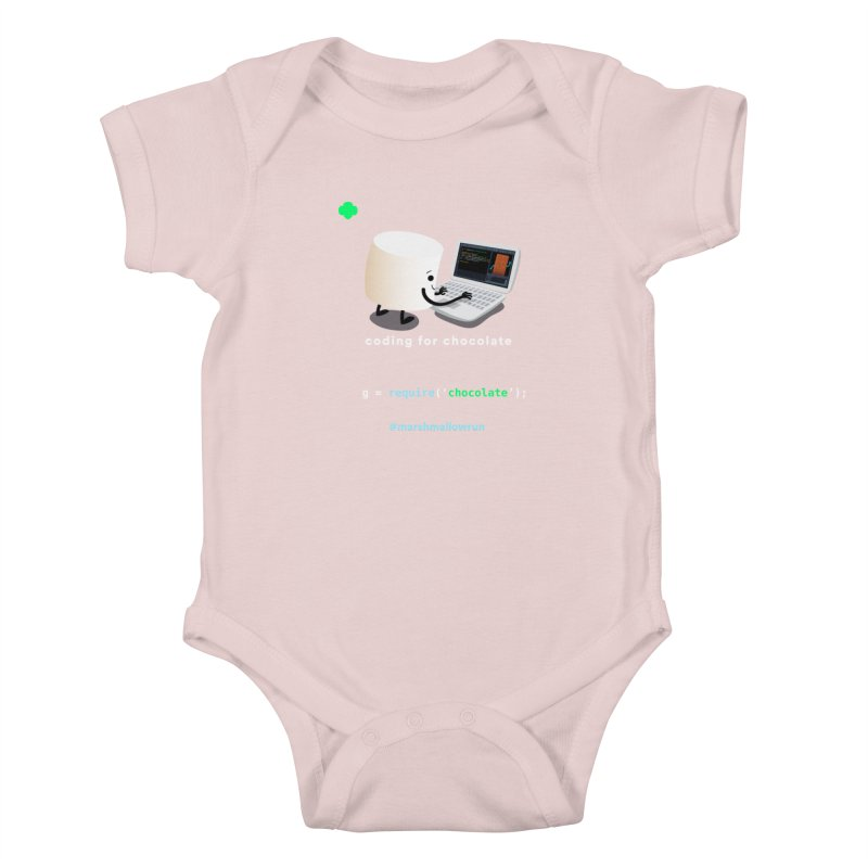 coding for chocolate Kids Baby Bodysuit by marshmallowrun's Artist Shop