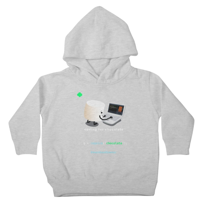 coding for chocolate Kids Toddler Pullover Hoody by marshmallowrun's Artist Shop