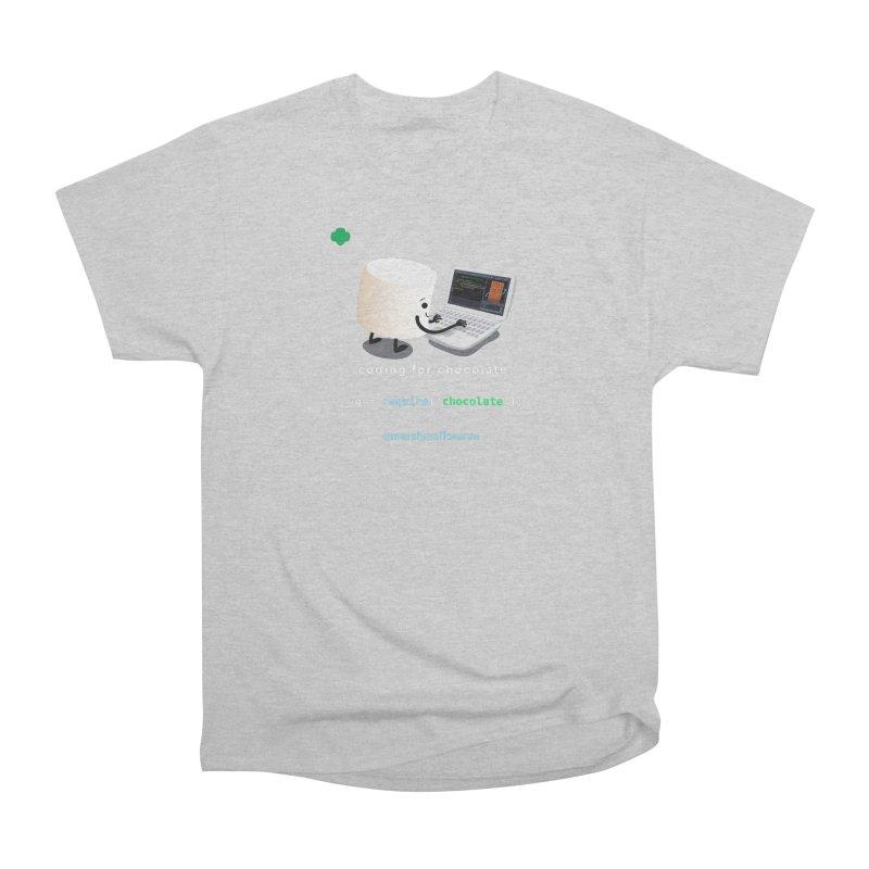 Chocolate Light Women's Heavyweight Unisex T-Shirt by marshmallowrun's Artist Shop
