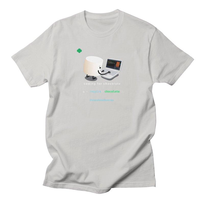 Chocolate Light Women's Regular Unisex T-Shirt by marshmallowrun's Artist Shop